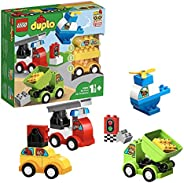 LEGO 乐高 拼插类玩具 得宝系列 10886 我的创意汽车收藏馆 1?+岁 积木玩具