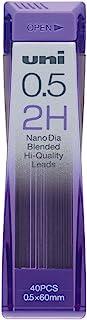 三菱铅笔 自动铅笔芯 Nano Dia 0.5 U05202ND 2H 10個