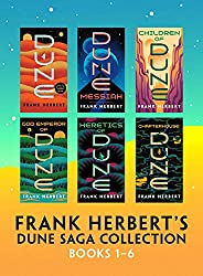 Frank Herbert's Dune Saga Collection: Books 1 - 6 (English Edit