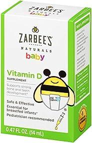 Zarbee's Naturals 补充剂 Vitamin D 400 IU