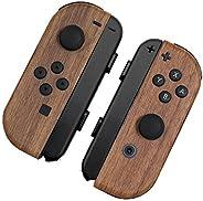 [skinfact] JOYCON Skins 天然木材 Nintendo Switch Controller 日本制造 優質紋理貼花包裹皮膚