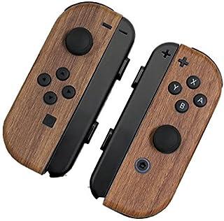 [skinfact] JOYCON Skins 天然木材 Nintendo Switch Controller 日本制造 优质纹理贴花包裹皮肤