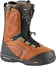 Nitro Snowboards 男士 EL Mejor TLS '21 全地域自由式优质快速系带靴,棕