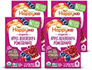 Happy Squeeze Organic Superfoods Twist Apple Blueberry Pomegranate, 3.17 Ounce Pouch (Pack of 16) Baby Toddler