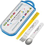 SKATER 斯凱達 兒童用 餐具三件套組 筷子 餐勺 餐叉 活動 日本制 TCS1AM