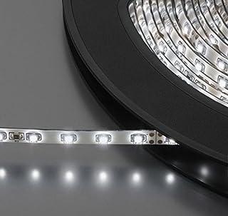 Monacor 38.5670 LEDS-10MP/RGB 24V DC 防湿版本柔性 LED 带 - 白色