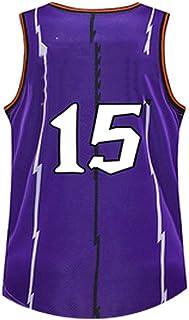 Basketball Vince 儿童 #15Jersey 复古运动球衣