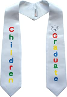 OSBO GradSeason 中性款幼儿园印花毕业披肩
