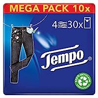 Tempo 手帕纸 Tempo标准版 量贩装(10x30包 10件装 )