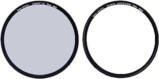 Kase Skyeye 77 毫米 CPL 磁性 MC 光学玻璃滤镜包括适配器 77