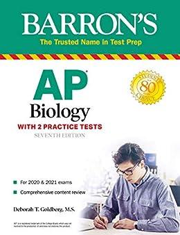 """AP Biology: With 2 Practice Tests (Barron's Test Prep) (English Edition)"",作者:[Deborah T. Goldberg]"