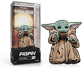 Figpin Star Wars The Mandalorian The Child with Soup Cup 3 英寸珐琅别针 #510