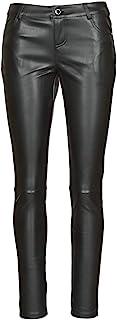 Morgan 女式 Pantalon Simili Cuir Premy 休闲裤