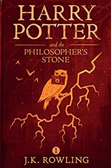 """""""Harry Potter and the Philosopher's Stone (English Edition)"""",作者:[J.K. Rowling, Olly Moss]"""