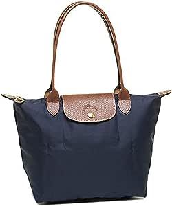 Longchamp 珑骧 小号长柄尼龙女包手提肩背折叠饺子包 海军蓝 2605089556 (法国品牌 香港直邮)