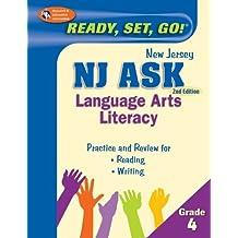 NJ ASK Grade 4 Language Arts Literacy (New Jersey ASK Test Preparation) (English Edition)