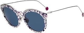 Christian Dior DiorBlossom 斑点紫色/蓝色镜片 52mm GKRKU DiorBlossom/S Diorblossom Dior 花朵