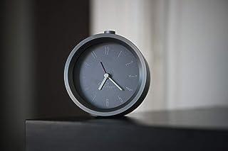 菲律宾 Tempus 闹钟铝,5 x 9.4 x 9.4 厘米,灰色