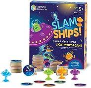 Learning Resources Slam Ship 单词游戏,家庭学校,视觉,触觉和听觉学习,年龄5岁以上