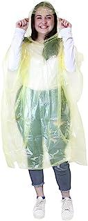 eBuyGB 2 件装成人紧急防水雨披风带兜帽 – 节日主题公园