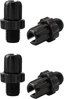 4 件 MTB 自行车 M10 刹车手柄调节螺丝紧固件螺栓刹车配件。