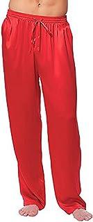 丝绸缎缎休闲裤