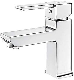 IBERGRIF M11301 金色,单手浴室水龙头带节水功能,面盆龙头,镀铬,银色