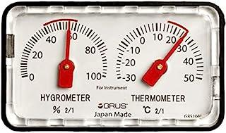 GRUS 日本制造 精密温湿度计 桌面 乐器用 GRS104I