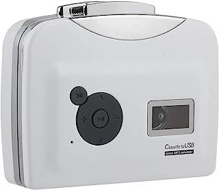 将磁带传输到 USB 闪存盘磁带到 MP3 转换器即插即用,支持电池供电和 USB 供电,适用于 Windows XP / Vista / 7
