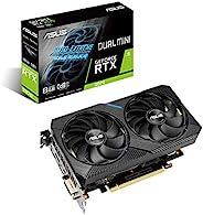 华硕Dual NVIDIA GeForce RTX 2070 Mini OC Edition游戏显卡(PCIe 3.0、8GB GDDR6内存,HDMI,DisplayPort,DVI-D,适用于Intel NUC 9