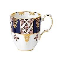 Royal Albert 100 Years 1900 Mug, 14.1 oz, Regency Blue
