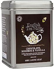 English Tea Shop 路易波士茶 巧克力香草 - 100克 散叶茶 锡罐装