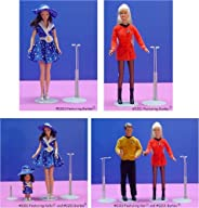 """Kaiser Doll Stand 2201, Box of 12 - White Doll Stands for 11"""" to 12"""""""
