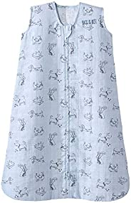 Halo * 纯棉细布睡袋可穿戴毛毯,多种尺寸和颜色 Blue Dogs 大