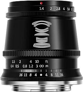 TTArtisan 17mm F1.4 APS-C M43 手动对焦镜头适用于富士 X 安装相机,如 X-A10 X-A20 X-A3 X-A5 X-A7 X-M1 X-M2 X-T10 X-T20 X-T30 X-T4 X-T100 X-T2...