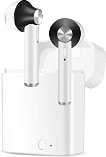 蓝牙耳机迷你蓝牙 5.0 无线耳塞真无线 HiFi 立体声入耳式运动耳机