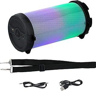 Dunlop 蓝牙扬声器 - 音乐盒 - 无线 - LED 灯光显示 - 带肩带 - 8瓦 - USB 和 Micro SD