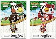 amiibo 2 件装套装 [Blathers/Celeste](动物交叉系列)适用于 Nintendo Switch - Switch Lite -WiiU- 3DS
