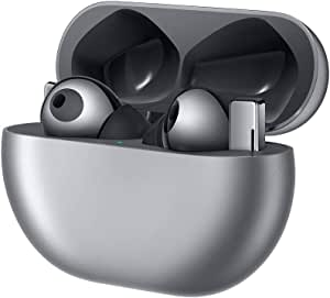 Huawei 华为 FreeBuds Pro 无线蓝牙耳机 带智能降噪功能(动态降噪),3麦克风系统,无线快速充电,霜银色
