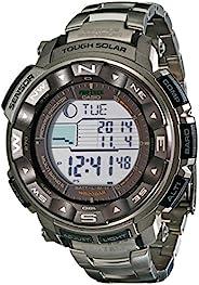 Casio 卡西歐 男士 Pro Trek Tough 太陽能數字運動手表