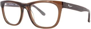 Ferragamo SF2737 男士眼镜架,棕色,54