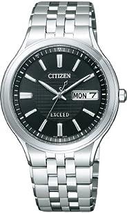CITIZEN西铁城 腕表 EXCEED Eco-Drive 光动能驱动 电波腕表 日期&日期 AT6000-52