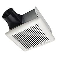 Broan AE110 Invent Energy Star 合格單速通風風扇 白色 50 CFM 0.5 Sones AE50 需配變壓器
