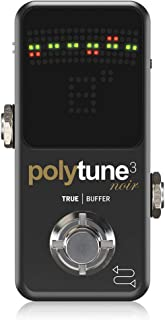 tc electronic Polyphonic Mini Tuner 小型复调调音器 POLYTUNE 3 NOIR