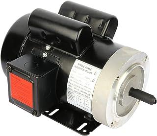 Cuilvu 2HP 电动机 3450 RPM,单相,56C 框架,115V/230V,5/8轴直径轧钢外壳空气压缩机 60HZ