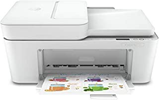 HP 惠普 DeskJet Plus 4120 多功能一体式打印机,带无线打印,即时喷墨,3 个月试用,白色