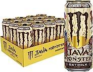 怪物能源 Java 怪物农夫燕麦牛奶、咖啡 + 能量饮料,15 盎司(12 件装)