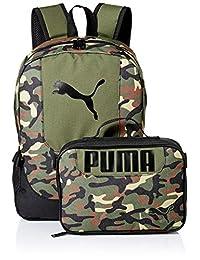 PUMA Big Kid's Lunch Box Backpack Combo