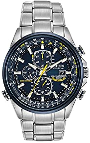 Citizen Men's AT8020-54L Blue Angels Stainless Steel Eco-Drive Dress W