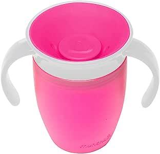 Munchkin 带手柄创意杯 粉色